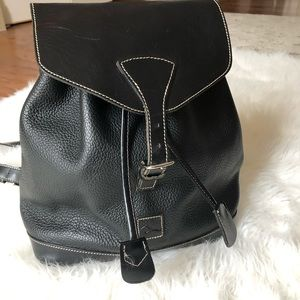 Dooney and  Boourk black backpack